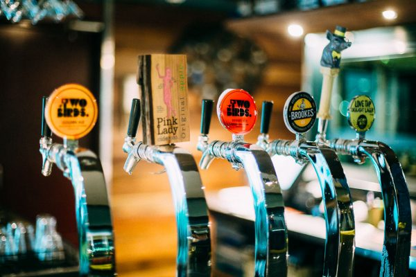 Great selection of tap beers