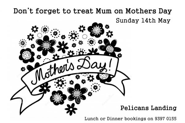 Spoil mum this mothers day – Pelicans Landing Williamstown